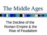 World History MIDDLE AGES UNIT Power Point Bundle