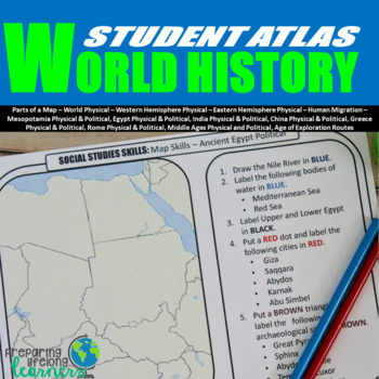 World History Map Activities