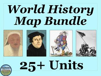 World History Map Bundle