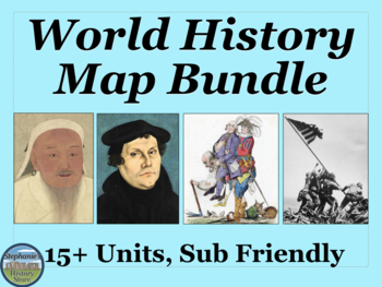 World History Map Bundle