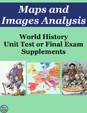 World History Maps and Images Analysis