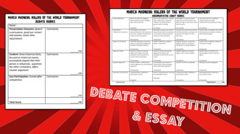 World History March Madness: Rulers of the World