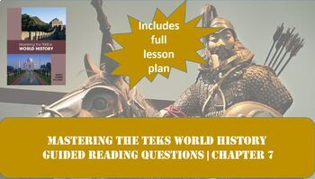 World History Mastering the TEKS: Post-Classical Asia and Beyond