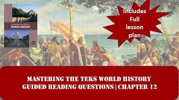 World History Mastering the TEKS: Pre-Columbian Empires & Colonies