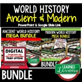 World History Mega Bundle Ancient to  Modern Times (World