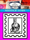 World History: Middle Ages - Stamp Projects