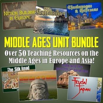 World History Middle Ages Unit Bundle