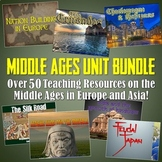World History Middle Ages Unit Bundle