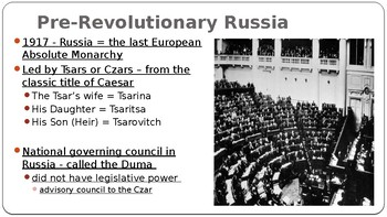 World History PPT Romanovs, Rasputin, and Revolution 28 slides