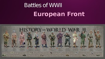 world history ppt world war ii the european front 80 slides tpt