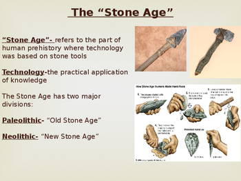 World History-Paleolithic/Neolithic Power Point