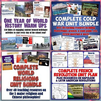 World History Part 2: Complete Curriculum Digital Download