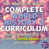 World History Part 2: Complete Curriculum Bundle