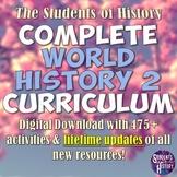 World History Part 2: Complete Curriculum Bundle