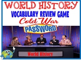 World History Password Review Game Cold War