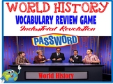 World History Password Review Game Industrial Revolution