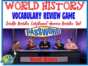 World History Password Review Game Revolutions & Enlightenment