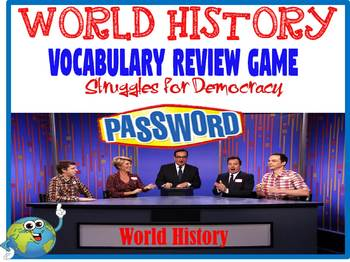 World History Password Review Game Struggles for Democracy