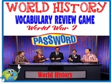 World History Password Review Game World War I