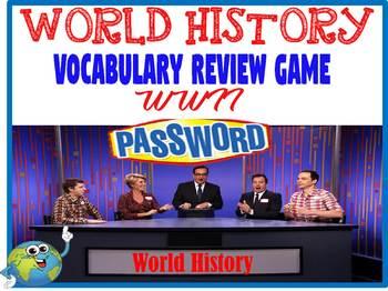 World History Password Review Game World War II