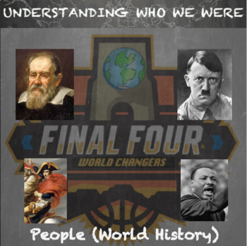 World History People--March Madness Final Four Brackets