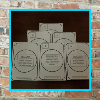 World History Playing Card Series: Add-on Bundle for Ancient World