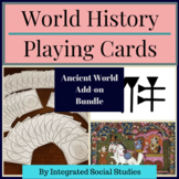 World History Playing Card Series: Add-on Bundle for Ancie