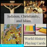 World History Playing Cards: Judaism, Christianity, and Is