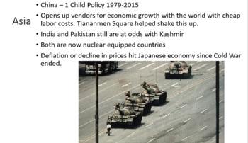 World History - Post Cold War