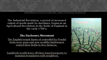 World History Power Point:  Industrial Revolution in Europe