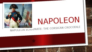 World History Power Point:  Napoleon 40 slides lots of pictures & info