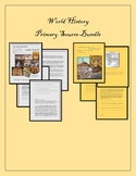 World History: 10 Primary/Secondary Source Resource Bundle