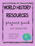 World History Project Pack