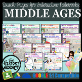 World History Quick Pages Instructional Mega Bundle