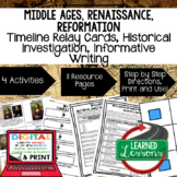 Renaissance & Reformation Timeline & Writing with Google Link World History
