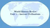 World History Review (Early Civilizations)