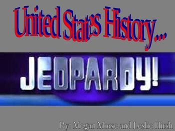 World History Review Jeopardy Game