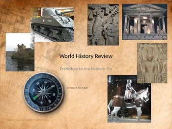 world history review powerpoint presentation by teresa davis tpt