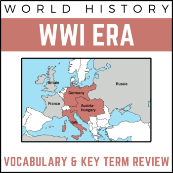 World History Review PowerPoint Presentation: World War I