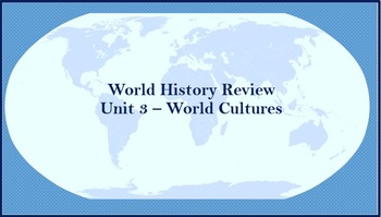 World History Review (World Cultures Meet)