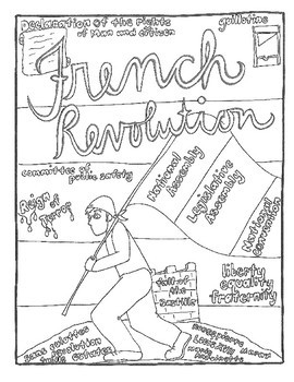 World History Revolutions Coloring Pages