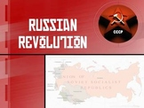 World History: Russian Revolution PowerPoint Lecture