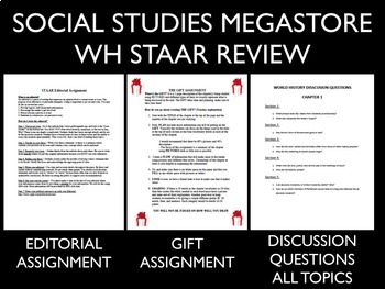 World History STAAR Review materials