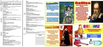 World History Scientific Revolution BUNDLE PowerPoint Guided Notes Project