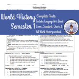 World History Semester 1 Complete Curriculum (half a year) Early Humans to Meso