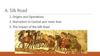 World History Silk Road Simulation