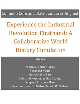 World History Simulation: Experience the Industrial Revolution