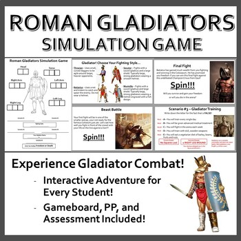 World History Simulation Games (BUNDLE)