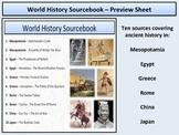 World History - Primary Sourcebook