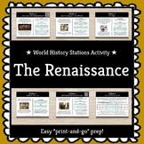 World History Stations Activity - Intro to the Renaissance